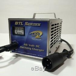 Club Car Golf Cart Battery Charger 48 Volt 15 Amp DS or Precedent 1996 and Up