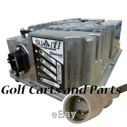 Club Car Golf Cart Battery Charger Lester Summit II Series 48v Bluetooth