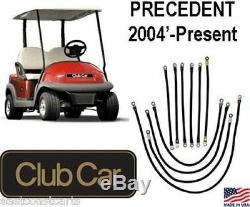 Club Car IQ Precedent Golf Cart # 2 Gauge Battery Power Cable Kit