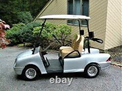 Club Car, Mercedes Benz Golf Cart, New Batteries 48 Volt, Like New