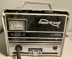 Club Car Power Drive 2 Battery Charger 22110 48V Golf Cart TESTED