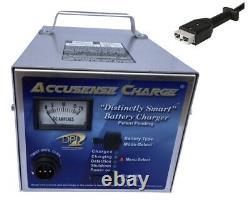 DPI 48 volt 17 amp golf cart battery charger SB-50 Connector USA Made