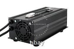 EZGO 48 Volt 17 Amp RXV Golf Cart Battery Charger Desulfator Reconditioner withLED