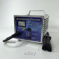 EZGO Golf Cart Battery Charger 48 Volt Triangular 3 Pin RXV Connector DPI