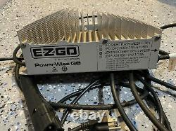 EZGO RXV 13 AMP PowerWise QE Golf Cart Battery Charger 48V