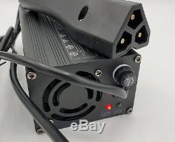 EZGO SUPERCHARGER RXV Golf Cart Battery Charger LARGE LED DISPLAY 48 Volt EZ-GO