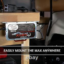 EZGO TXT 1996-2013 Golf Cart 36 Volt 15 Amp Battery Charger Crowfoot Handle