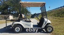 EZGO TXT 4 Passenger Golf Cart Brand New'21 Batteries Light Package NR FL