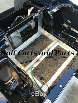 EZGO TXT/MEDALIST 1994 TO 2013 GOLF CART ALUMINUM BATTERY TRAY Made in USA