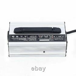 For Club Car Battery Charger 48V 15 AMP Golf Cart 48 Volt Round 3 Pin Plug USA