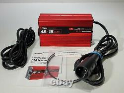 Form charge 48V 15AMP Golf Cart Battery Smart Charger 3 Pin Plug