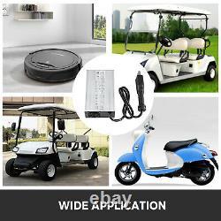 Golf Cart Battery Charger 36V 18A Big eight Type Plug For Club Car Ez GO Yamaha