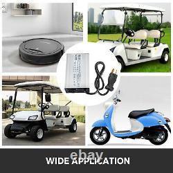 Golf Cart Battery Charger 36V 18A Small eight Type Plug F Club Car Ez GO Yamaha
