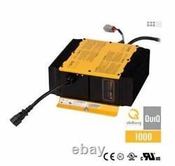 Golf Cart Battery Charger Delta-Q QuiQ 1000 48 Volts 18A, 912-4854, NEW