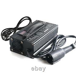 Golf Club Cart 48 Volt Golf Cart Battery Charger 15A With Round 3 Pin Charge Plug