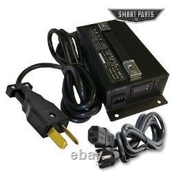 High Performance 36V 18 Amp Golf Cart Battery Charger Club Car Yamaha EZGO LED D