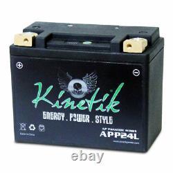 Kinetik AP Phantom Series 12V LFP Powersports, Motorcycle, Golf Cart Battery