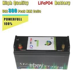 LiFePO4 12V 100Ah 150Ah 200Ah RV Campers IP68 Waterproof Golf Cart Batteries
