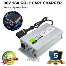 NEW 36 Volt 18A Golf Cart Battery Charger 36V For Ez Go Club Car DS EZgo TXT-One