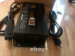NEW 48V 15 Amp Golf Cart Battery Charger 48 Volt Club Car Forklift EzGo Yamaha