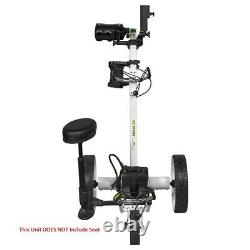 NEW Bat Caddy X4 Pro Electric Golf Bag Cart White with 12V 35Ah Battery
