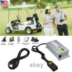 New 36v Electric For EzGo Golf Cart Battery Charger 18A 36 Volt 18 Amp Powerwise