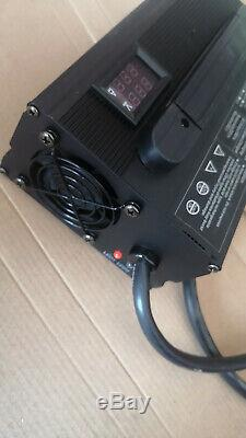 New 48 volt 15 amp Golf Cart, Battery Charger Club Car plug 3 Pin Charge