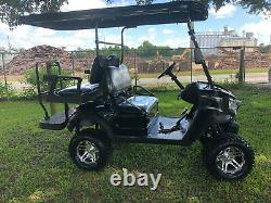 New 4 Seat Golf Cart - Lithium Battery - Loaded with Options