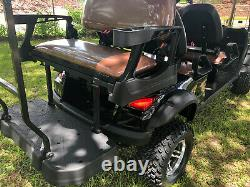 New 6 Seat Golf Cart - AC Motor - Lithium Battery - Loaded with Options