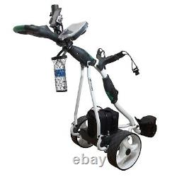 New NovaCaddy Electric Motorized Golf Trolley Cart, 36 holes Battery + Accessory