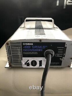 OEM Yamaha 48v 17A golf cart battery charger JW2-H2107-01 03