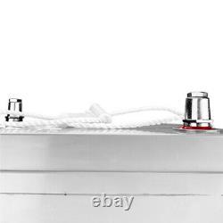 PowerStar AGM 6 Volt Sealed AGM Deep Cycle 6V 200AH Battery Golf Cart RV Boat
