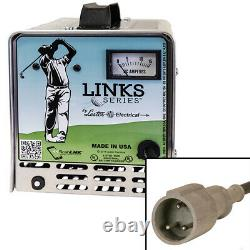 Powerdrive Plug Battery Charger for Club Car DS and Precedent Golf Cart
