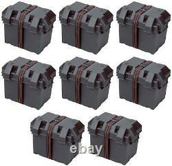 Powerhouse 13228 Battery Box Fits 6 Volt Golf Cart Battery 8 PACK