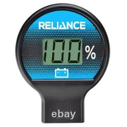 Reliance Golf Cart 48 Volt Solid State Battery Meter & USB Charger