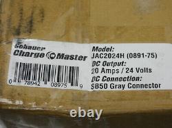 Schauer 24v 20 Amp 24-Volt Golf Cart Aircraft Battery Charger JAC2024H (0891-75)