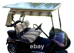 Tektrum Universal 120 Watt 36v Solar Panel Battery Charger Kit for Golf Cart