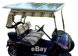 Tektrum Universal 60 Watt 36v Solar Panel Battery Charger Kit for Golf Cart