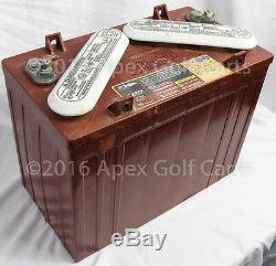 Trojan T-1275 12V 150Ah Deep Cycle Flooded Lead Acid Golf Cart Battery Club Car