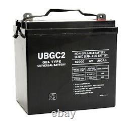 UB-GC2 Golf Cart Gel Battery 6V 200Ah Capacity L5 Terminal