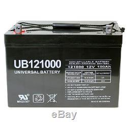 UPG 12V 100AH Caddy Kaddy E-Caddy E-Car Golf Cart AGM SLA Battery