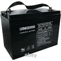 UPG UB62000 6V 200AH Battery for Champion M83CHP06V27 Golf Cart RV Boat