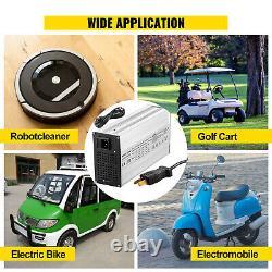 VEVOR Golf Cart Battery Charger Club Car Charger 36V 18A Splayed Plug for Ez Go