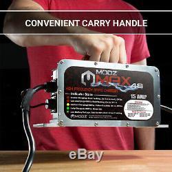 Yamaha G19/G22 Golf Cart 48 Volt 15 Amp Battery Charger -2 Pin Handle